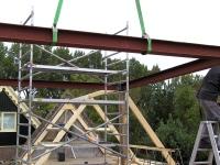 Staalconstructie verbouwing boerderij