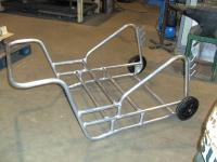 Nieuw gebouwde aluminium wagen