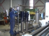 Opbouw RVS test opstelling