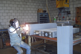 Komatsu WA 600-6 radiateur radiator
