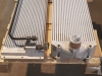 Cat 966 interkoeler en oliekoeler revisie!