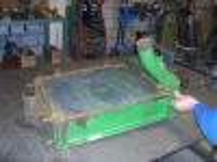 Revisie oude klassieke koperen radiateur oltimer