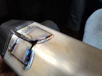 Titanium demper race motor reparatie - lassen Tig
