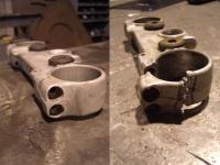 Aluminium kroonplaat reparatie